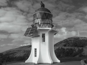 Cape Reinga Lighthouse, North Island of New Zealand, June 2008