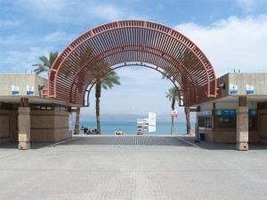 Ein Gedi Beach, Israel, May 2011